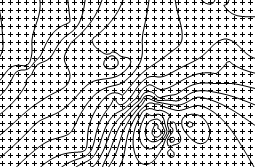 Surfer grid files contain evenly-spaced nodes of x,y,z values, and can be used to create contour maps.