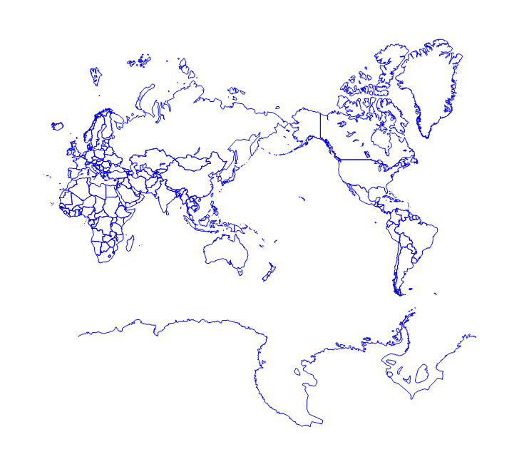 Resolve The Problem Of The International Date Line Longitude Going From 180 To 180 Degrees To Create A Map Of The Pacific Ocean In Didger Golden Software Support